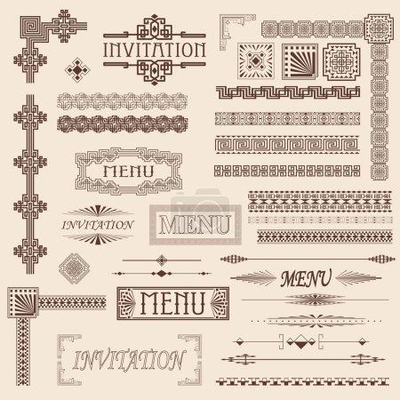 elementy dekoracyjne obramowania