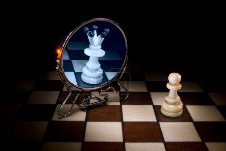 Photo pour Cette image - une métaphore (conscience et subconscience). - image libre de droit
