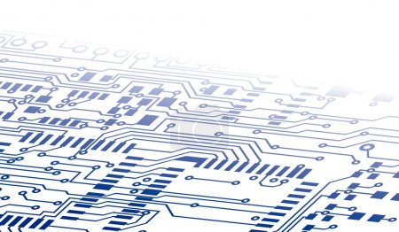 Illustration for Circuit Board Background Fade - Royalty Free Image