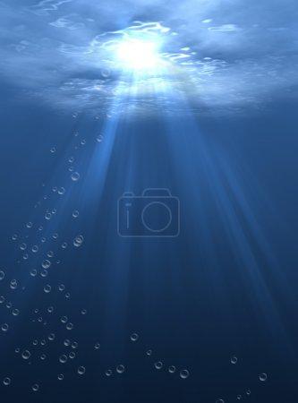 Photo pour Le monde sous-marin - image libre de droit
