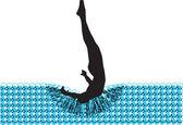 Jumping man Vector illustration made in adobe illustrator