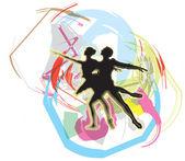 Ballet Vector illustration