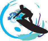 Surf Vector illustration made in adobe illustrator