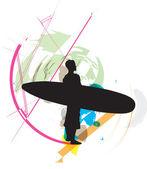 Surf Vector illustration