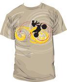 T-shirt illustration