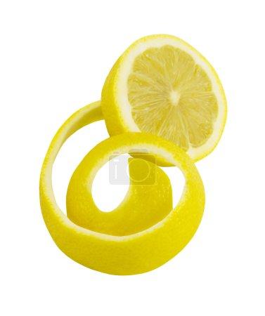 Photo pour Citron frais isolé sur fond blanc - image libre de droit
