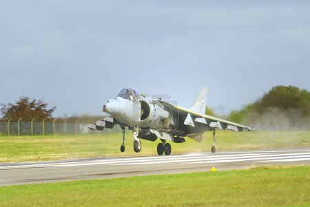 Harrier fast jet