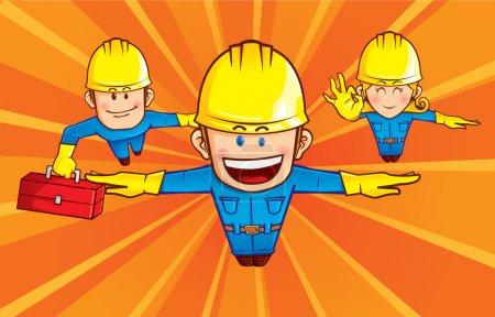 Repairman superhero