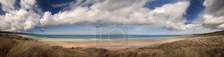 Cornwall beach panoramic
