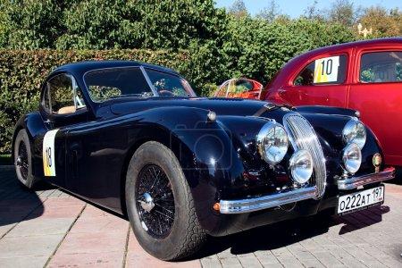 Classic old car 1953 Jaguar