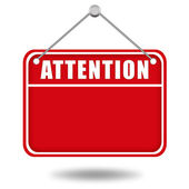 Attention board