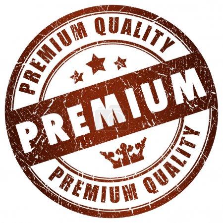 Photo pour Label de qualité Premium - image libre de droit