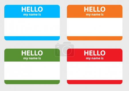 Hello my name card