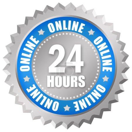 24 Stunden geöffnet