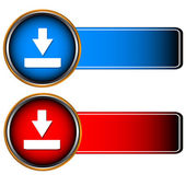 Red and dark blue icons