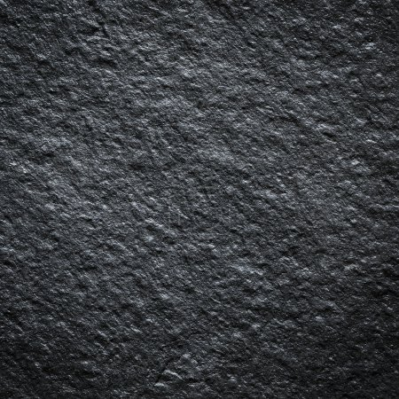 Photo for Black wall stone background - Royalty Free Image
