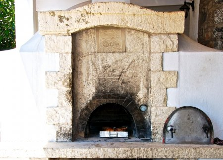 An old stone oven.