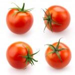 Tomato set isolated on white background...