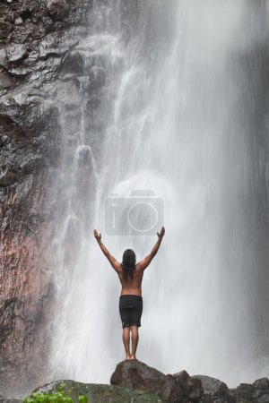 Waterfall feeling