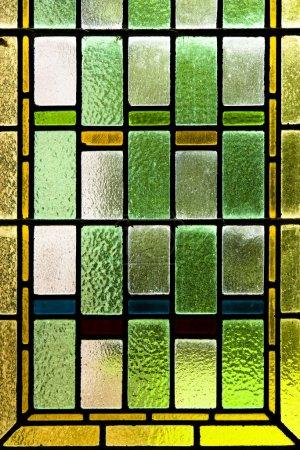 Foto de Cerca de los coloridos vitrales - Imagen libre de derechos