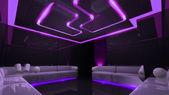 Purple electronic luxury room