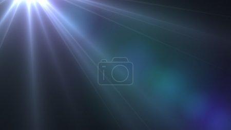 Photo pour Effet spécial léger flare - image libre de droit