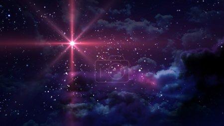 Foto de La noche estrellada - Imagen libre de derechos