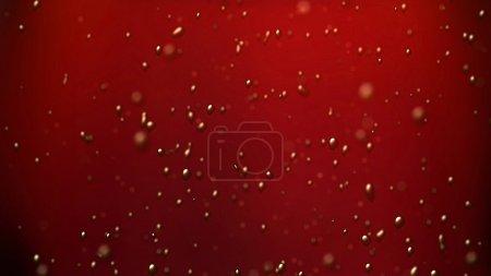 Coke bubbles air