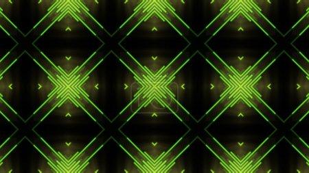 Green disco dance background 02