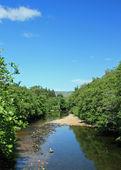 řeka pohled - uk Skotska ben nevis