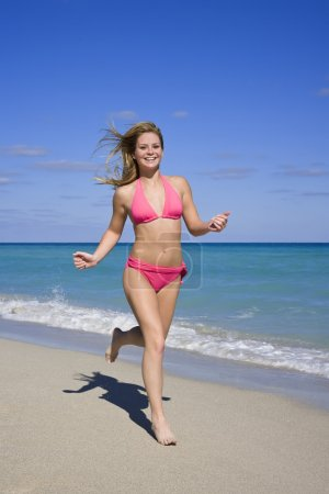 Teen on Beach
