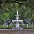 Forsyth Park Fountain in Savannah Georgia....