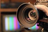 """Постер, картина, фотообои """"масштабирование видео камеры объектив"""""""