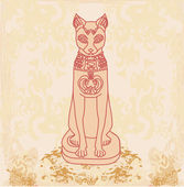 """Постер, картина, фотообои """"Стилизованной египетской кошки"""""""