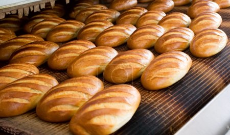 Bread at the bakery