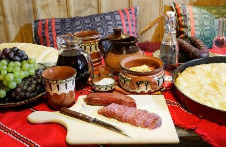 Traditional Bulagrian food