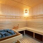 New wooden Finland-style sauna