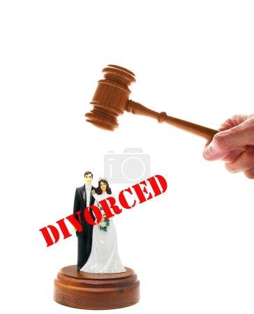 Wedding - divorce couple