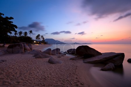 Sunrise at Lamai beach