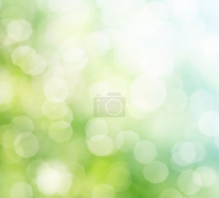 Photo for Natural green background with selective focus - Royalty Free Image