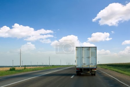 Photo for The truck on road. - Royalty Free Image
