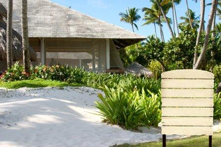 The house on an ocean coast
