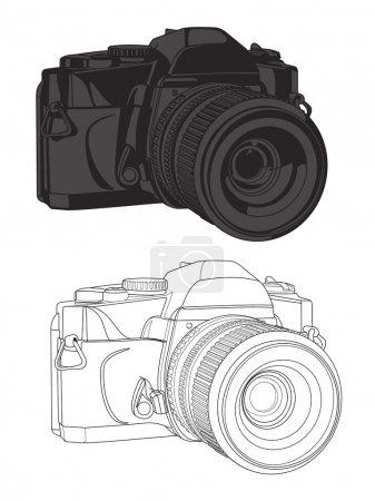 35mm Camera Vector