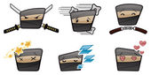 Vector Ninja Icons