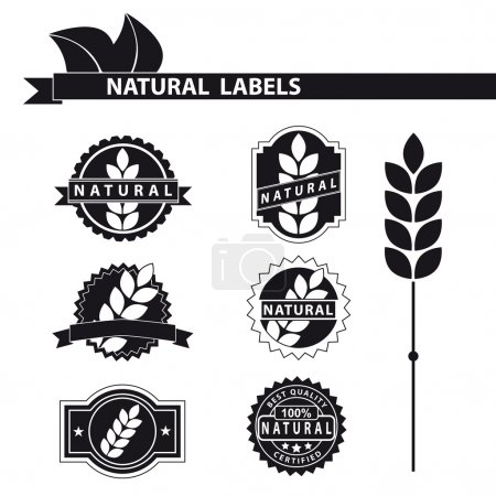 Natural labels set