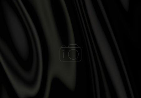 Photo pour Rideaux fond de tissu de satin noir - image libre de droit