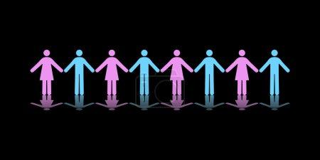 Team of Men and Women