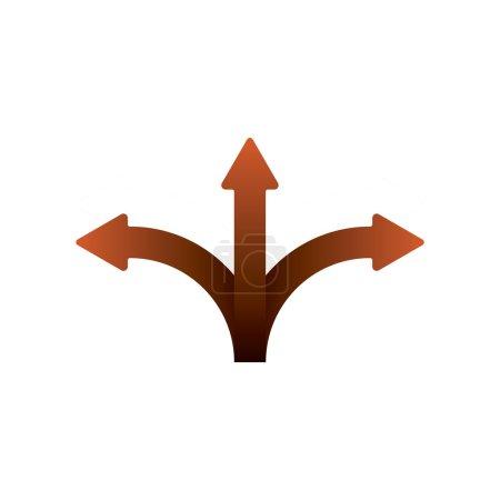 Three Splitting Arrows