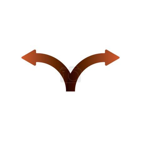 Two Splitting Arrows