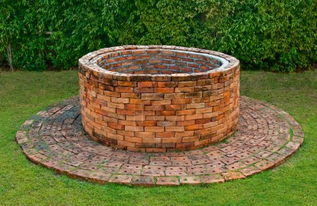 Photo for The Ancient brick well - Royalty Free Image